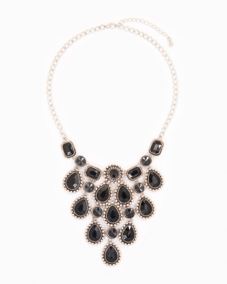 ENCHANTED | colier statement elegant negru