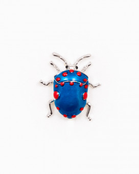 BLUE BUG | BROȘĂ COLORATĂ GÂNDĂCEL