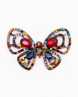 RAINBOW BUTTERFLY | BROȘĂ MULTICOLORĂ FLUTURE