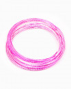 PINK BANGLE | bratari metalice roz