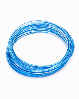 BLUE BANGLE - bratari metalice albastre