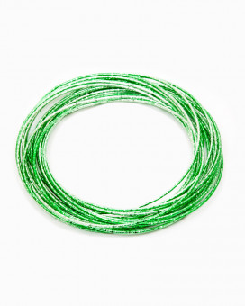 GREEN BANGLE - bratari metalice verzi