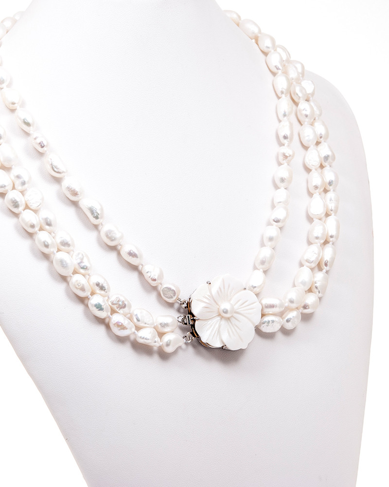 LOVELY PEARLS | colier multisir perle de cultura