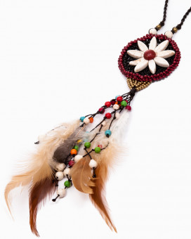 DREAM CATCHER - colier lung inspiratie indiana