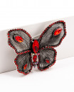 RED BUTTERFLY | brosa rosie fluture